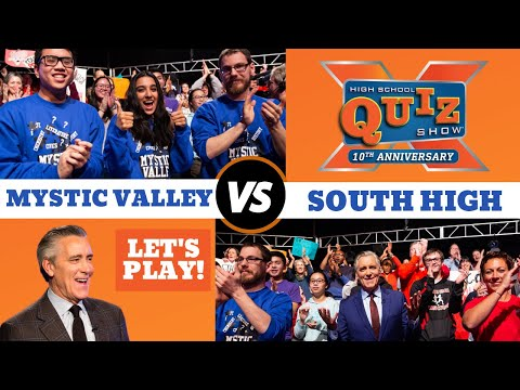 High School Quiz Show | Mystic Valley VS South High (1002)