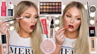 FULL FACE OF NEW DRUGSTORE MAKEUP TESTED | KELLY STRACK