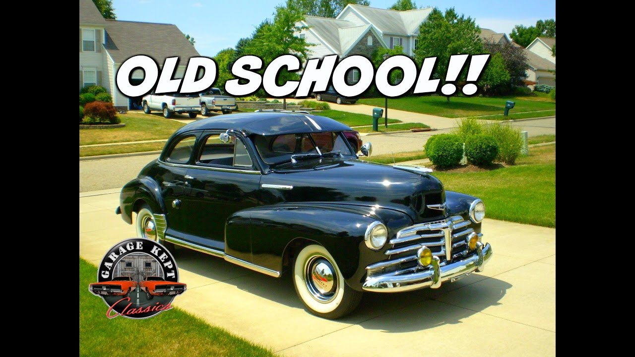 Coupe 1948 chevy stylemaster coupe for sale : Review: 1948 CHEVY STYLEMASTER BUSINESS COUPE FOR SALE - YouTube