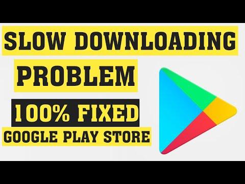 How To Fix Google Play Store Apps Slowly Downloding Problem Android Mobile 2020