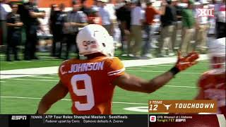 Baylor vs Texas Football Highlights