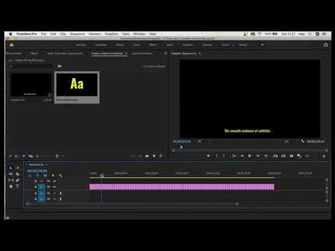 How To CHANGE FONT of ALL SUBTITLES At Once in Premiere Pro