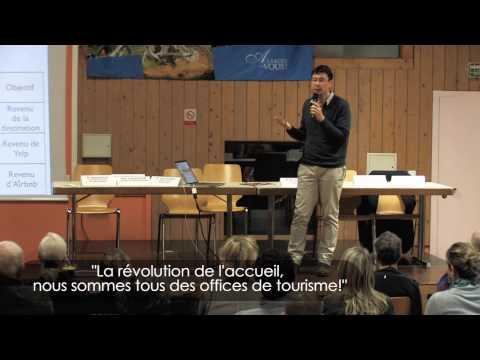 """Conférence etourisme """"La révolution de l'accueil, nous sommes tous des offices de tourisme!"""""""