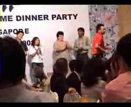 TAJIMA WELCOME DINNER PARTY(Singapore)