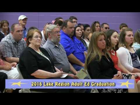 Lake Region Adult Education - 2016 Graduation