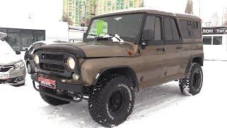 1999 УАЗ-3159 барс!  легендарный редкий зверь!  детальный обзор.