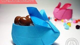Origami Easter Bunny /Origami conejo.
