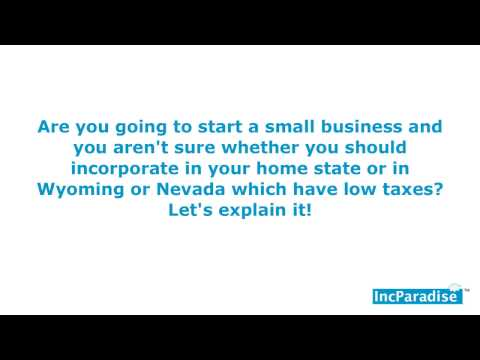 Should You Incorporate Your Small Business In Your Home State?