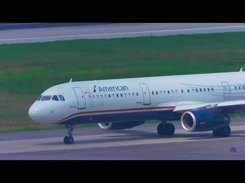 American Airlines US Airways Heritage Livery A321 Departing Sangster Int'l Airport | MBJ | 17-02-19