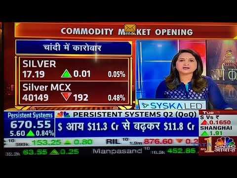 Tarun Satsangi's Commodity View 17October2017