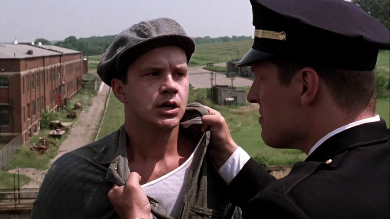 The Shawshank Redemption The Roof Scene Youtube