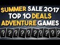 Steam Summer Sale 2017 - Top 10 Deals on Adventure Games