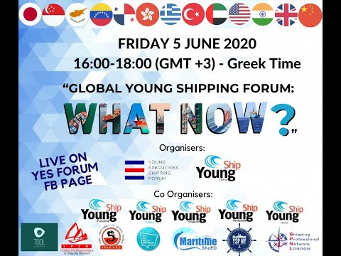 Global Young Shipping Forum: What Now?(5/6/20)