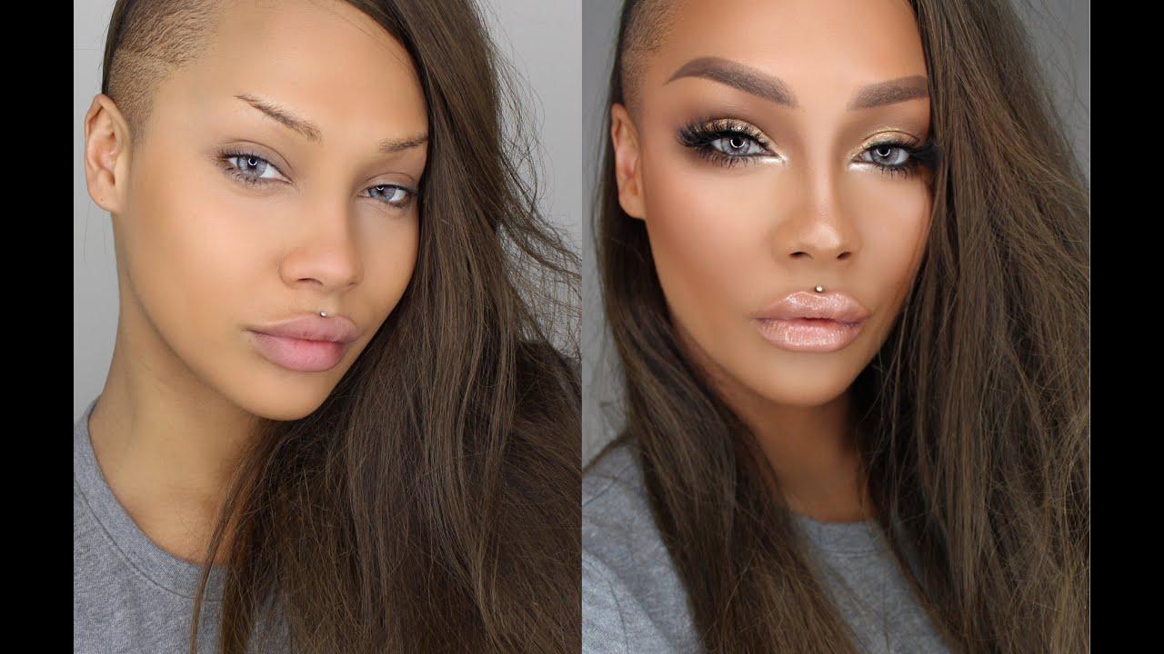 Make Look Eyes Bigger Brown