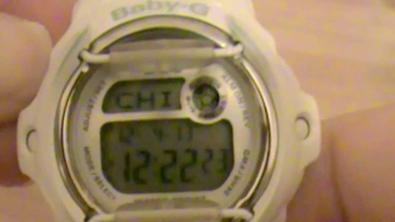 set time on your baby g watch youtube rh youtube com Casio Baby-G Watch Baby-G Watch