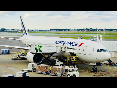 TRIP REPORT | Air France (Economy Class) | 777-200ER | Mumba