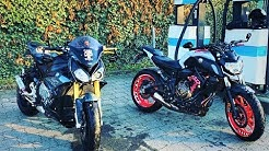 Carbon Heck, Kellermann Atto Dark Blinker, BMW S1000R