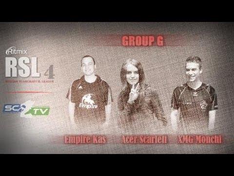 AcerScarlett vs EmpireKas: Ritmix RSL 4 Group G - [Starcraft II]