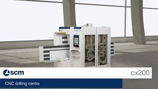 scm morbidelli cx200 - CNC drilling centre