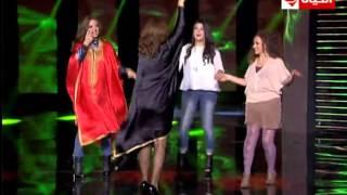برنامج Back to school - النجمة درة تهز المسرح بالرقص .. الدبكة التونسية