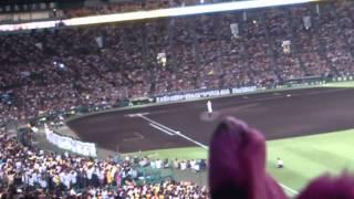 2012年10月09日 金本知憲選手の引退セレモニーの挨拶です。