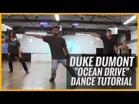 "Duke Dumont - ""Ocean Drive"" Dance Tutorial 