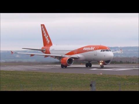 Plane Spotting Bristol Airport 11/2/18