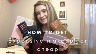 My Tips on How to Get Expensive Makeup For Cheap // Camsglam