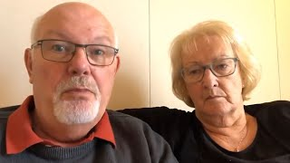 'Absolute balls': David and Sally Abel deny feeling unwell over coronavirus