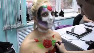 """Копия видео """"Грим на Хэллоуин. Пенза 2015"""""""