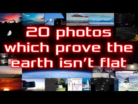 Flat Earth Debunked with 20 Photos 📷🌏😎🤙🎼 thumbnail