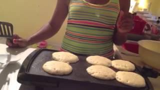 My Blueberry Quinoa Pancakes