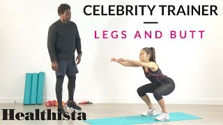 Legs and butt exercises to whip you into shape - the celebrity trainer's 10-minute workout