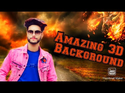 ||  Amazing 3D Movie Background On 3D Movie Effect App ||
