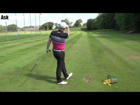 Closed Stance Club Path Golf Drill