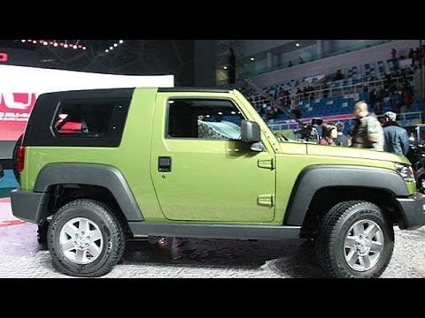Beijing Auto Show 2014 | Jeep Wrangler Chinese Copy BAIC B40 Unveiled