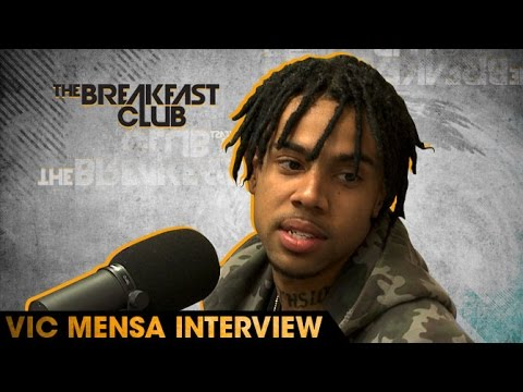 Vic Mensa Interview at The Breakfast Club Power 105.1 (06/06/2016)