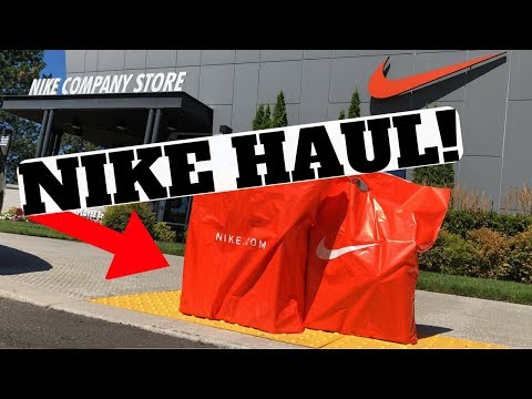 BIG NIKE HAUL!! 7 PAIRS of SNEAKERS UNBOXED!