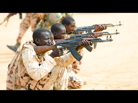 US Army In Africa - Training Chad Special Anti Terrorism Force By U.S. Army