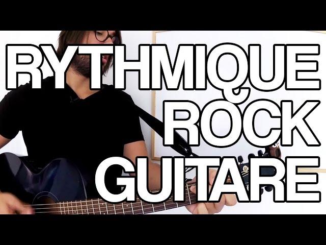 🎸 RYTHMIQUES ROCK À LA GUITARE