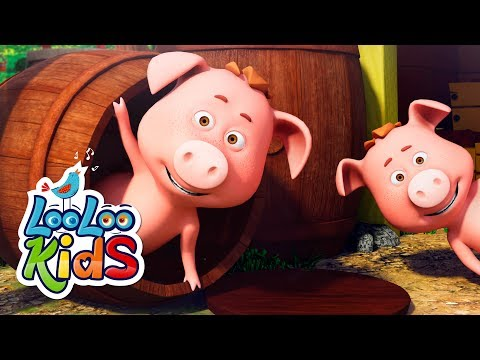 This Little Piggy - THE BEST Songs for Children | LooLoo Kids