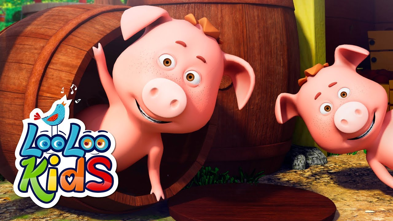 This Little Piggy - THE BEST Songs for Children   LooLoo Kids