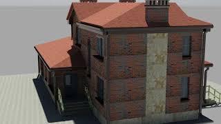 ПРоект дома  с двумя гаражами 2 2Г 214 4