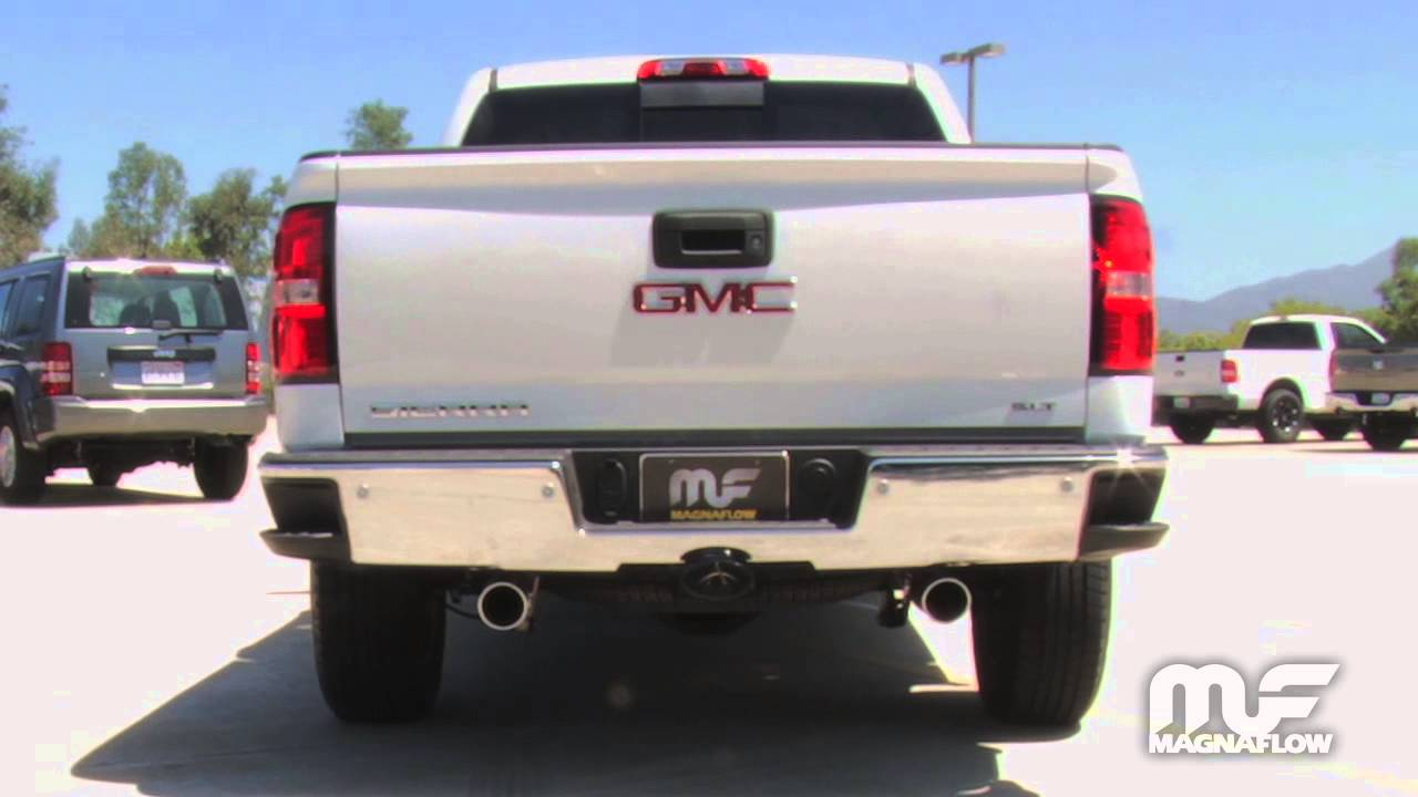 2014 2015 chevy silverado gmc sierra exhaust dual 15268 magnaflow stainless steel