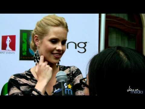 Claire Holt Talks Ian Somerhalder † s Kissing Abilities, Rebekah & Esther & The Vampire Diaries