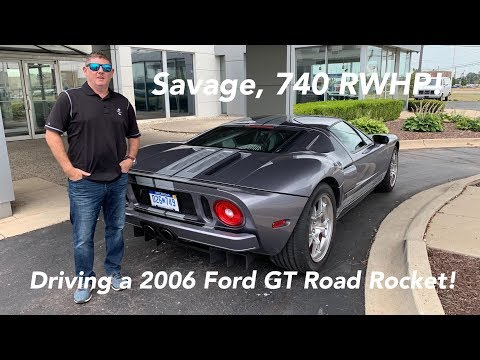 I Drove a Crazy 750 hp 2006 Ford GT - Is it as FAST as the 2019 Ford GT?