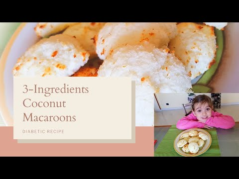 easy-3-ingredients-dietetic-coconut-macaroons|-dolcetti-cocco-dietetici-(english-subtitles)