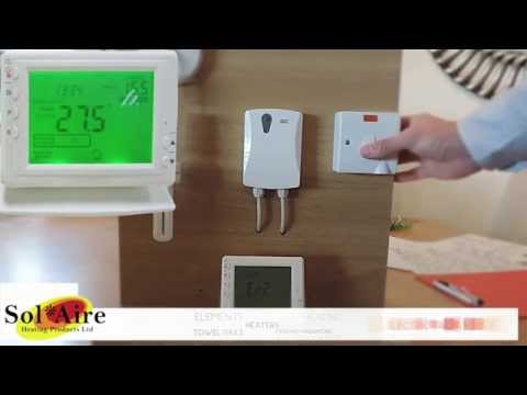 Termostato inal mbrico digital pr1 sol aire youtube - Termostato digital inalambrico ...