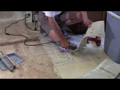 removal-of-armstrong-linoleum-w/-clean-removal-of-all-adhesive
