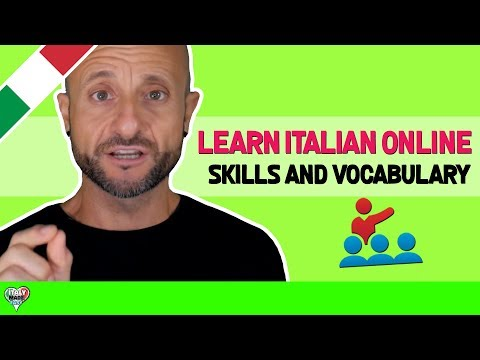 BASTA! Improve Basic Italian Language Skills and Vocabulary: